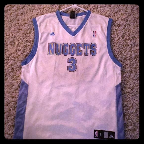 Allen Iverson Denver Nuggets NBA Jersey  3 591cafec8